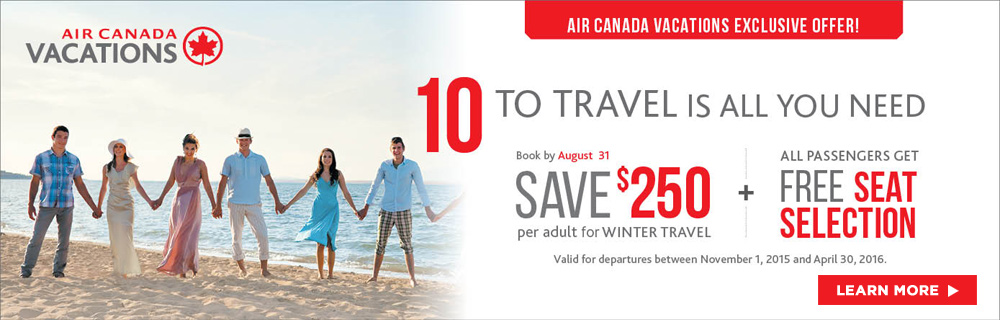 Air canada vacation