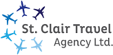 Logo for St. Clair Travel Agency