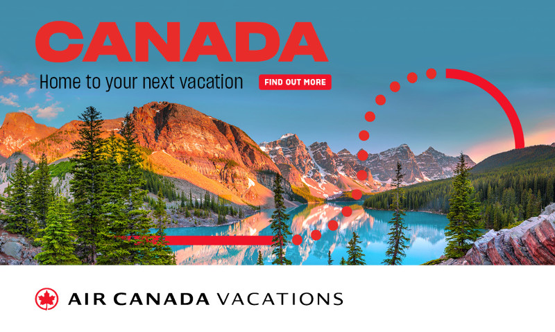 Canada. Home to your next vacation.
