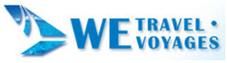 Logo for W E Travel Services