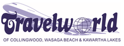Travelworld of Collingwood & Wasaga Logo