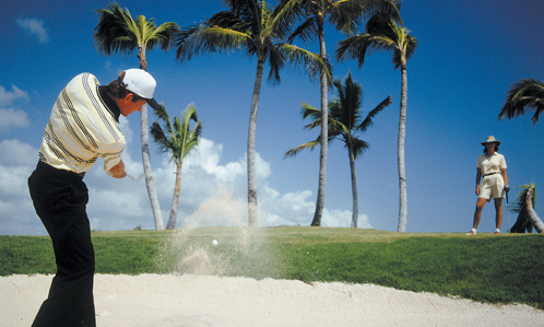 Packages for golf enthusiasts