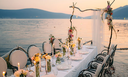 Luxurious weddings