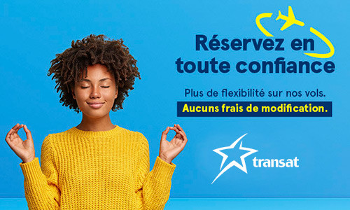 Peace of mind when you book with Transat!
