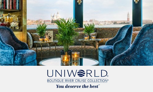 La collection de croisières fluviales d'Uniworld
